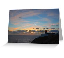 Cape Saint Vincent (Cabo Sao Vicente) Portugal Greeting Card