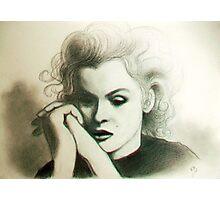 Fragile Marilyn.....♡ Photographic Print