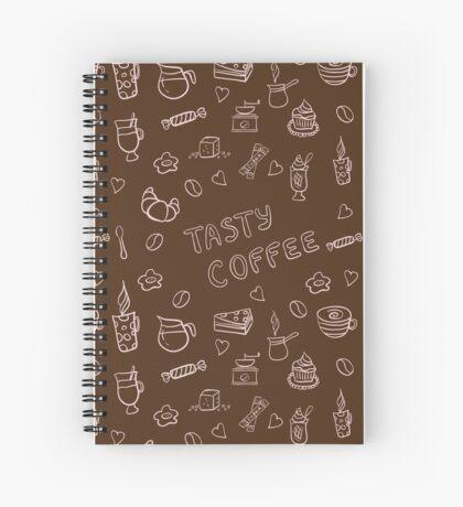 Tasty coffee Spiral Notebook