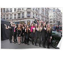 West End Kids provided entertainment at the Regent Street Motor Show 2013, Poster