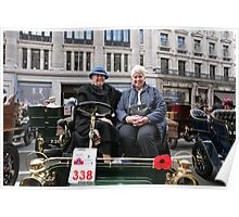 1904 cadillac at the Regent Street Motor Show 2013 Poster