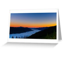 Mountain Sunrise Greeting Card