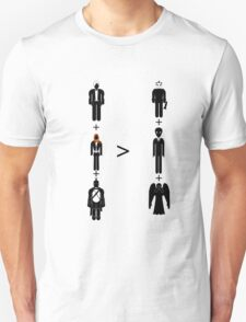 Doctor Who Maths - Season 6, Amy and Rory T-Shirt
