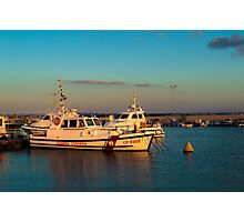 Trapani harbor Photographic Print
