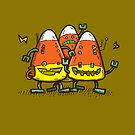 Candy Corn Bots by nickv47