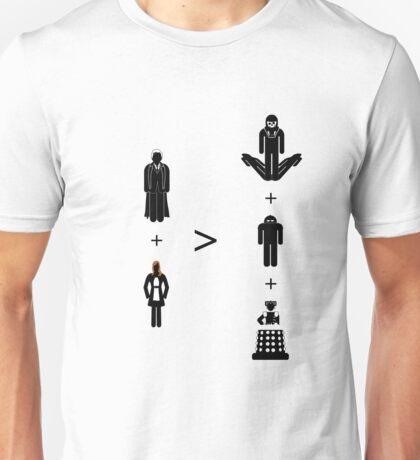 Doctor Who Maths - Season 4, Donna Unisex T-Shirt