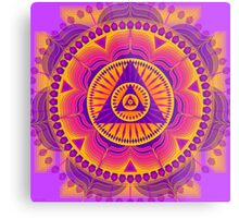 Healing Mandala for Arthritis and Artery Blockages Metal Print