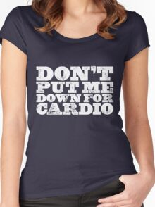 Cardio Women's Fitted Scoop T-Shirt