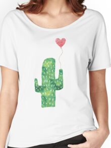 Lonely Cactus Women's Relaxed Fit T-Shirt