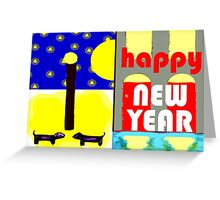 HAPPY NEW YEAR 91 Greeting Card