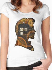 Doctor Who - TimeSpace & Smith Women's Fitted Scoop T-Shirt