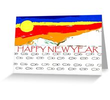 HAPPY NEW YEAR 93 Greeting Card