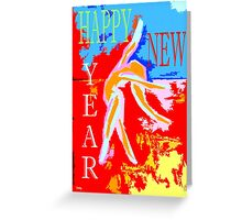 HAPPY NEW YEAR 95 Greeting Card