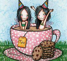 Fairy Tea Party by helenareis