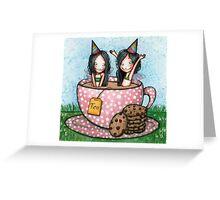 Fairy Tea Party Greeting Card