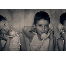 The Good Listener Photographic Print