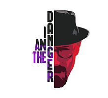 I am the DANGER - Purple/Red Photographic Print