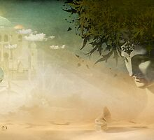 Desolation Rose - Gatefold Illustration by AngiandSilas