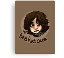 Basket Case Print Canvas Print
