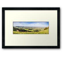 The Severn Valley Framed Print