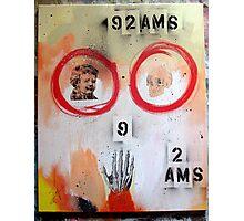 92AMS Photographic Print