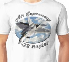 F-22 Raptor Air Supremacy Unisex T-Shirt