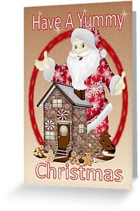 Santa`s Christmas Goodies by LoneAngel