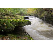 Moss Side River Rapids Photographic Print