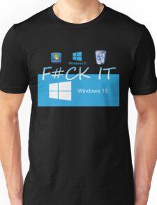Windows 10 Funny Unisex T-Shirt