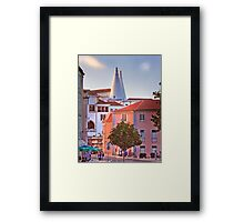 sintra sunset Framed Print