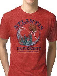 Atlantis University Tri-blend T-Shirt