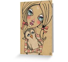 LilyAnne and Rupert Greeting Card