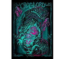 CROC-LORD Photographic Print