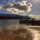 Sunshine Jetty on Loch Morar by derekbeattie