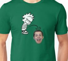 calvin peeing on mike matei Unisex T-Shirt