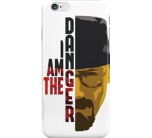 I am the DANGER - Red/Yellow iPhone Case/Skin
