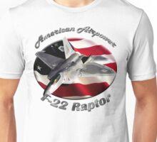 F-22 Raptor American Airpower Unisex T-Shirt