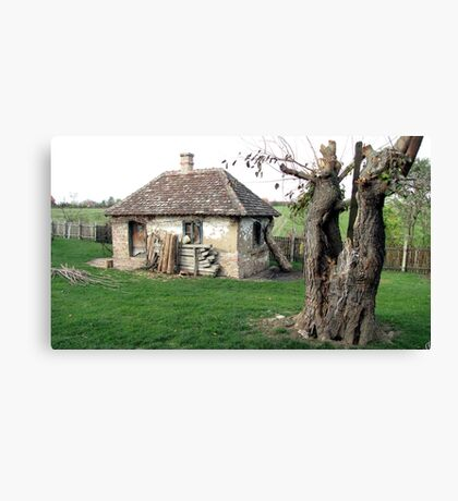 Once Upon a Time in Oaks Land Canvas Print