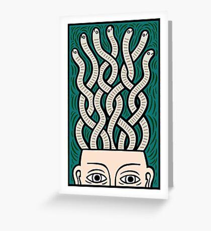 My brains Greeting Card