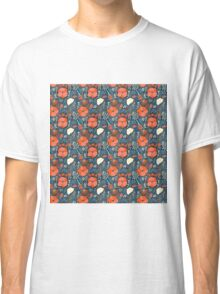 Summer field colorful pattern Classic T-Shirt