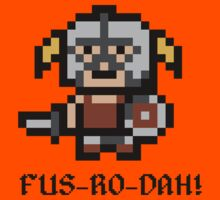 8 Bit Dovahkiin Kids Clothes