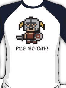 8 Bit Dovahkiin T-Shirt
