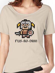 8 Bit Dovahkiin Women's Relaxed Fit T-Shirt