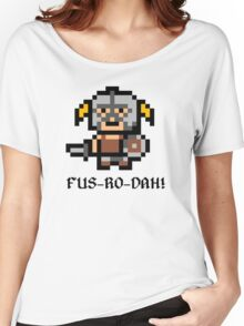 8 Bit Dovahkiin Women's Relaxed Fit T-Shirt