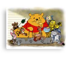 Winnie the Hutt Canvas Print