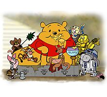 Winnie the Hutt Photographic Print