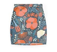Summer field colorful pattern Mini Skirt