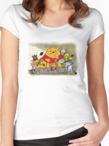 Winnie the Hutt Women's Fitted Scoop T-Shirt