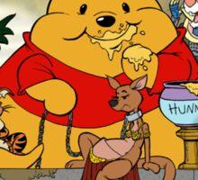 Winnie the Hutt Sticker