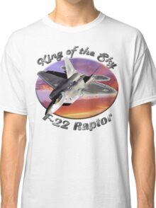 F-22 Raptor King Of The Sky Classic T-Shirt